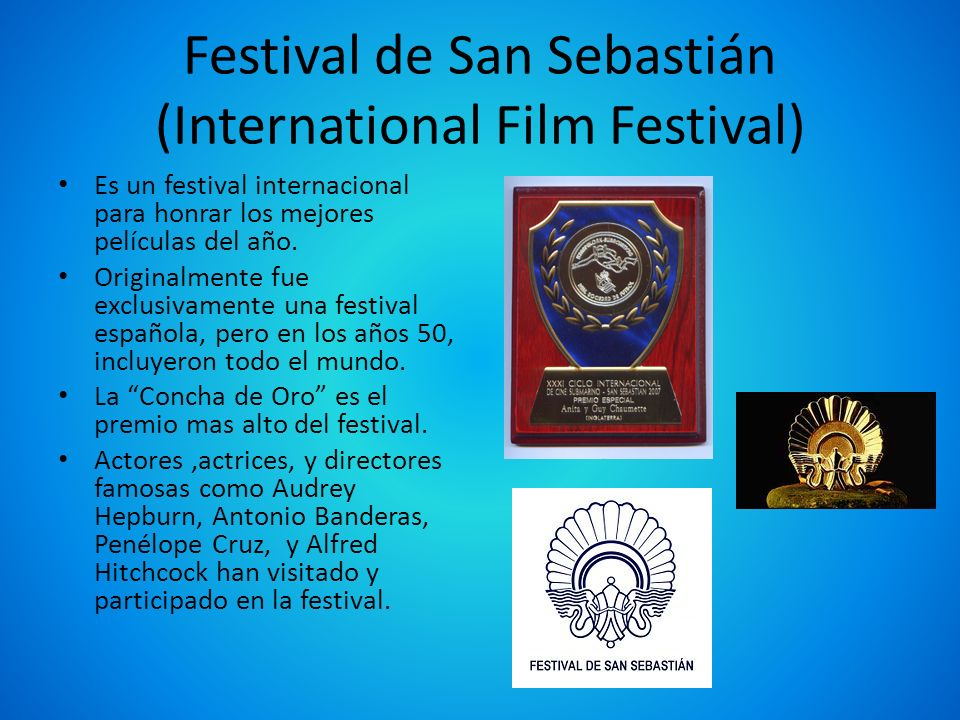 Festival de San Sebastián (International Film Festival)