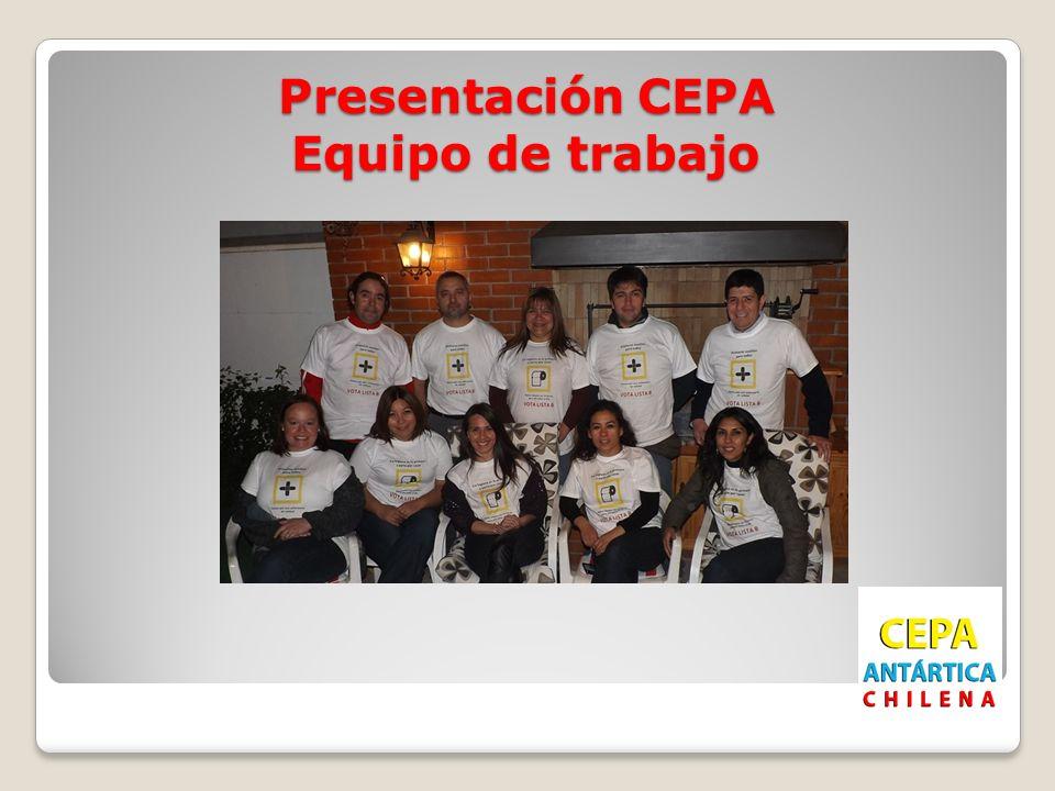 Presentación CEPA Equipo de trabajo