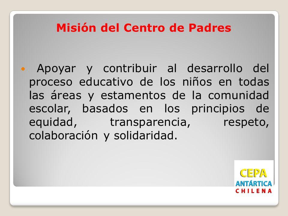 Misión del Centro de Padres