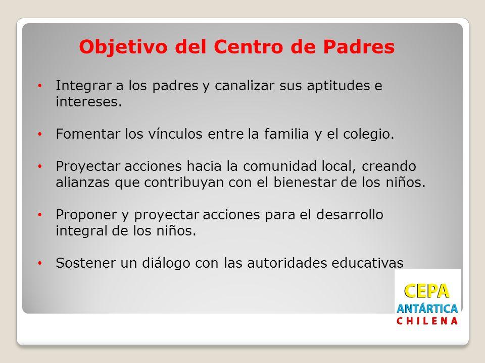 Objetivo del Centro de Padres