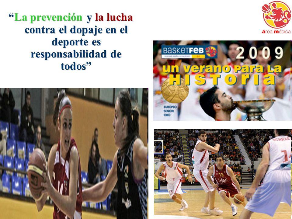 La prevención y la lucha contra el dopaje en el deporte es responsabilidad de todos