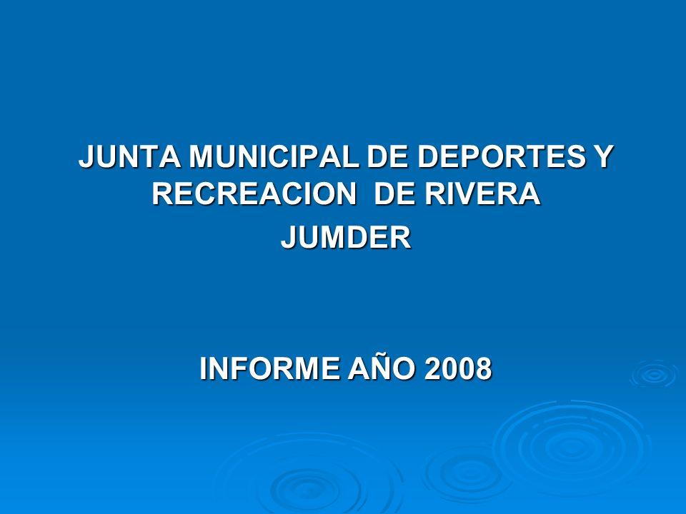 JUNTA MUNICIPAL DE DEPORTES Y RECREACION DE RIVERA