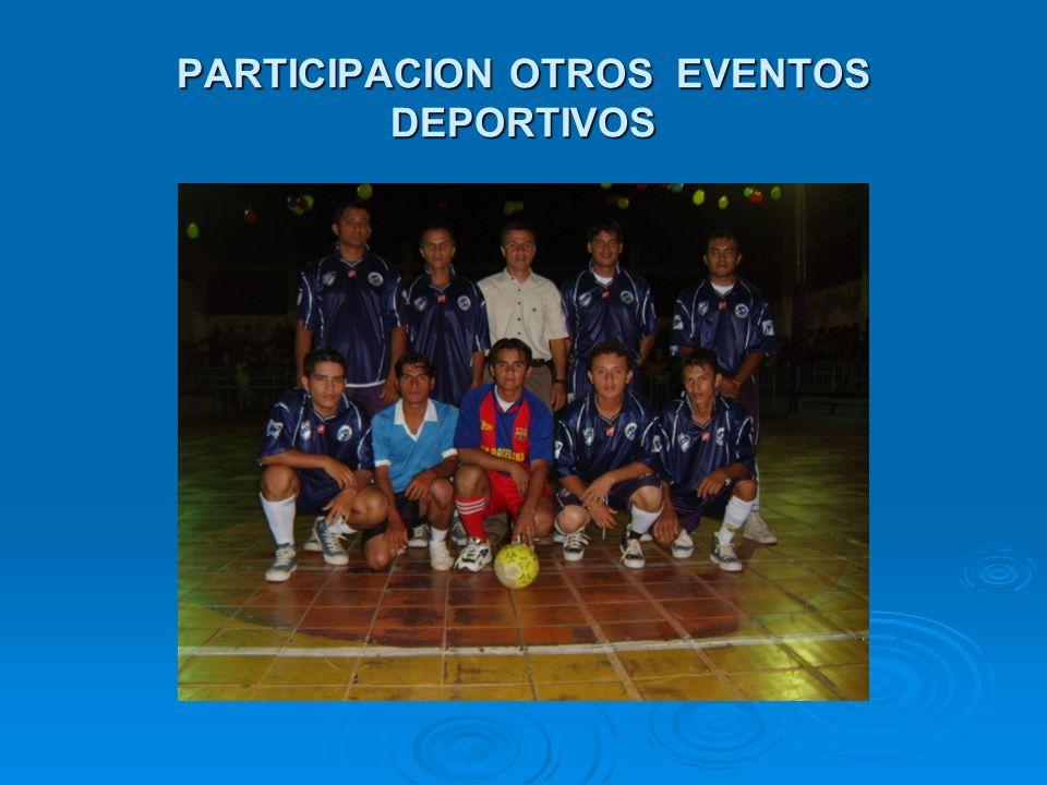 PARTICIPACION OTROS EVENTOS DEPORTIVOS