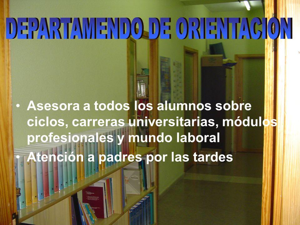 DEPARTAMENDO DE ORIENTACION
