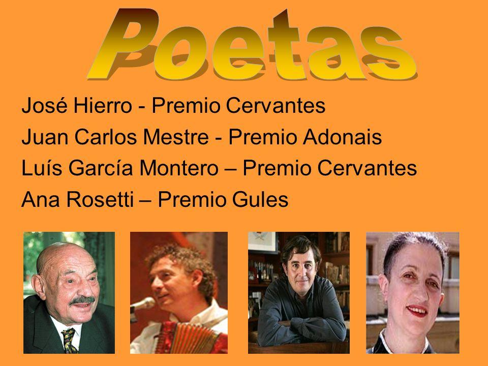 Poetas José Hierro - Premio Cervantes