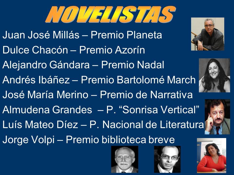 NOVELISTAS Juan José Millás – Premio Planeta