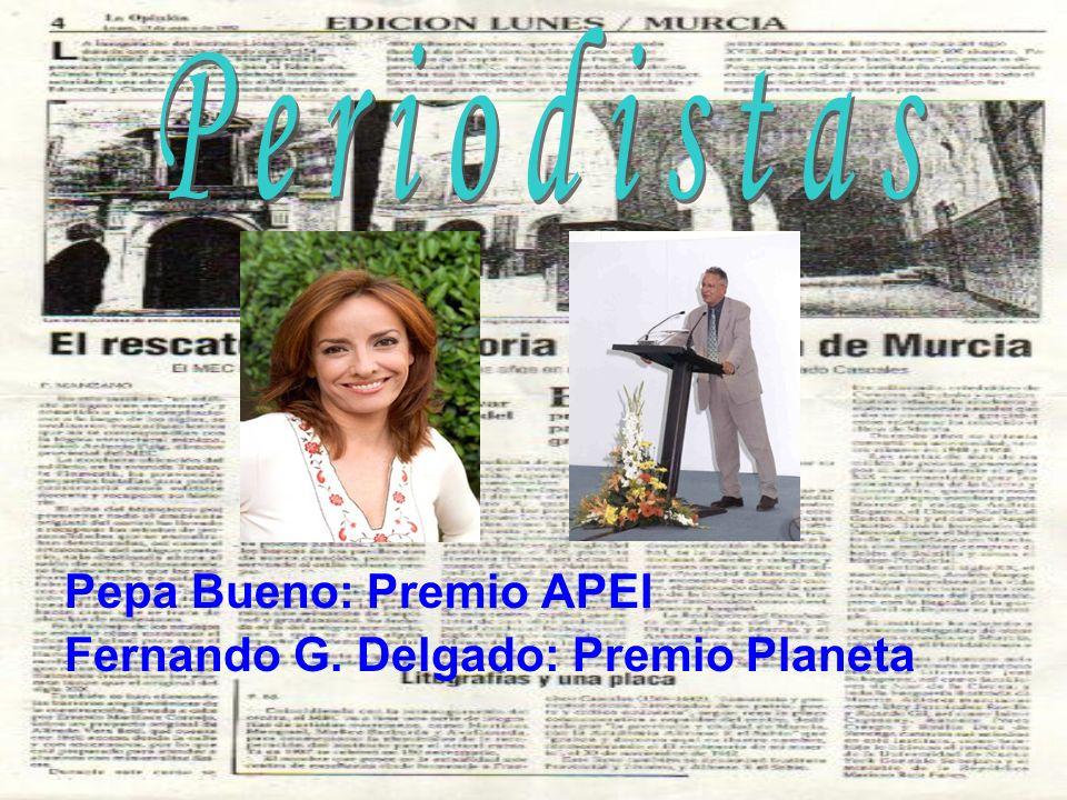Periodistas Pepa Bueno: Premio APEI