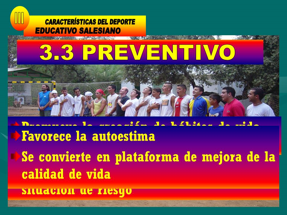 CARACTERÍSTICAS DEL DEPORTE