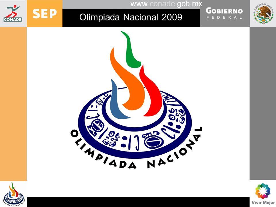 www.conade.gob.mx Olimpiada Nacional 2009