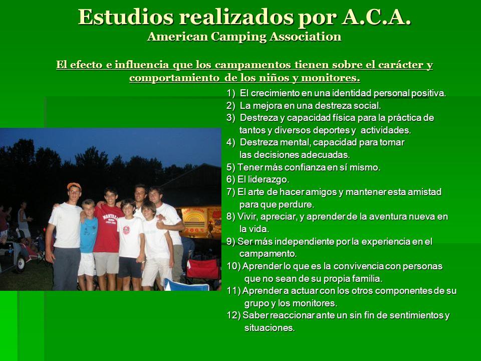 Estudios realizados por A. C. A