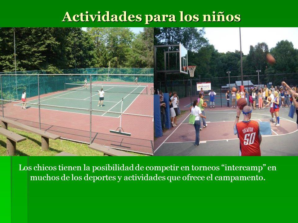 Actividades para los niños