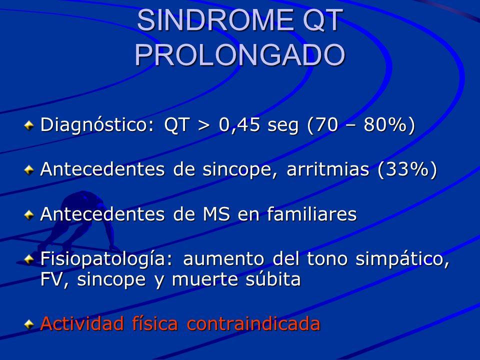 SINDROME QT PROLONGADO