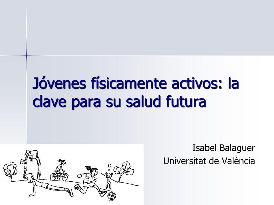 Jóvenes físicamente activos: la clave para su salud futura