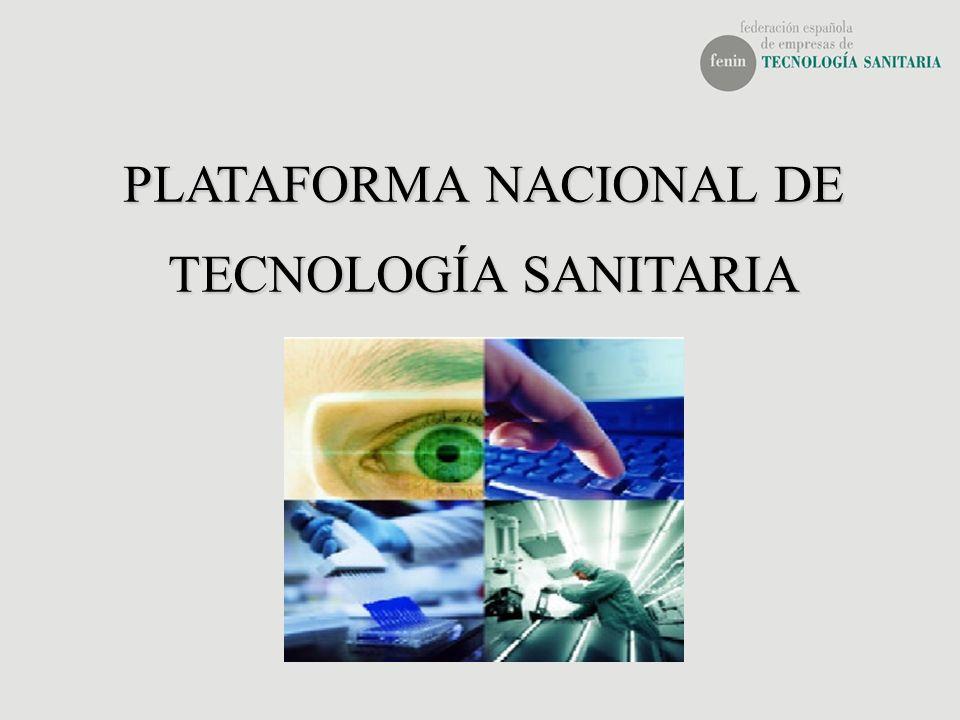 PLATAFORMA NACIONAL DE TECNOLOGÍA SANITARIA