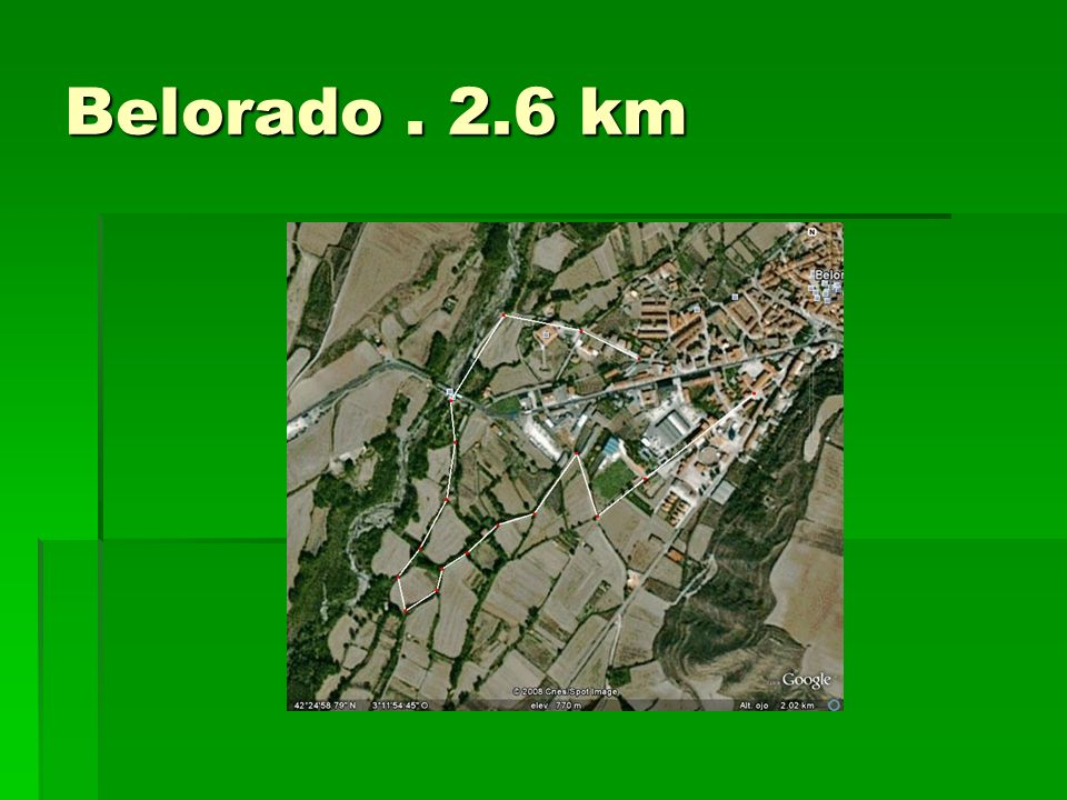 Belorado . 2.6 km