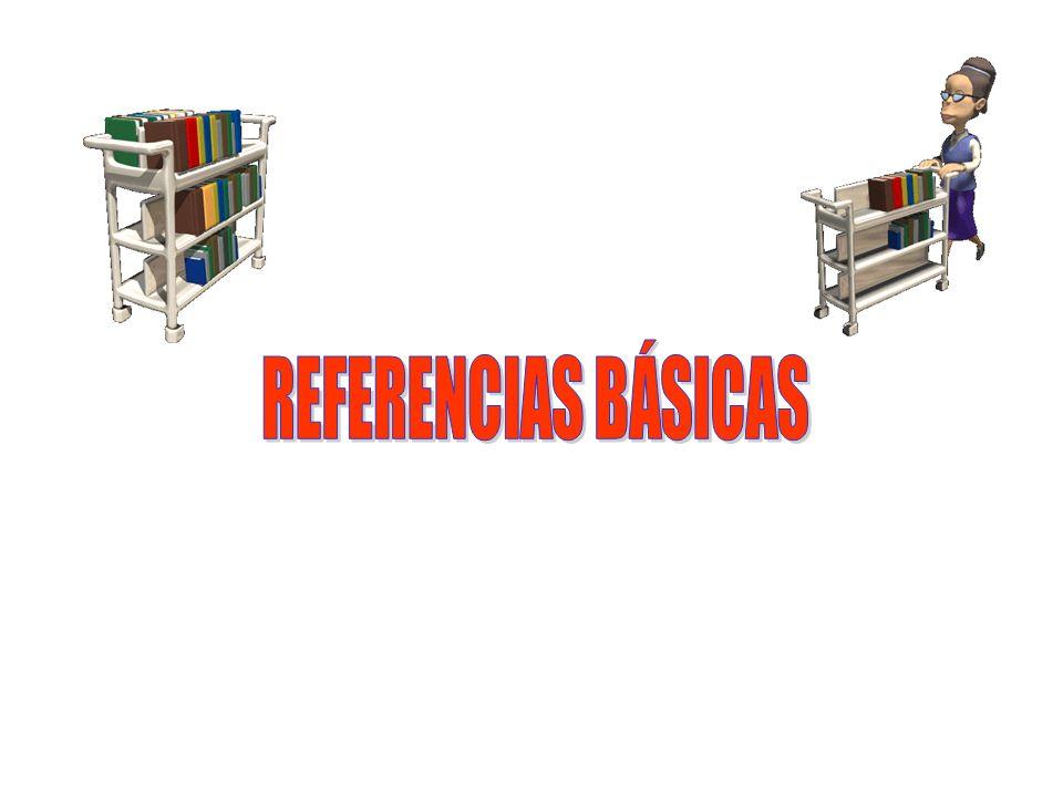 REFERENCIAS BÁSICAS