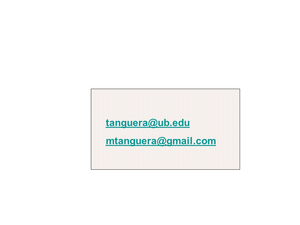 tanguera@ub.edu mtanguera@gmail.com