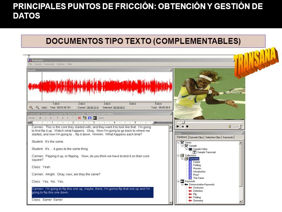 DOCUMENTOS TIPO TEXTO (COMPLEMENTABLES)
