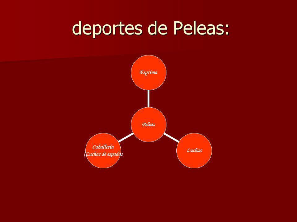 deportes de Peleas: