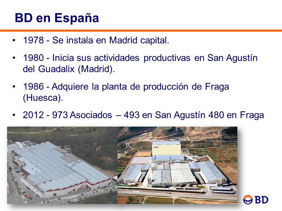 BD en España 1978 - Se instala en Madrid capital.