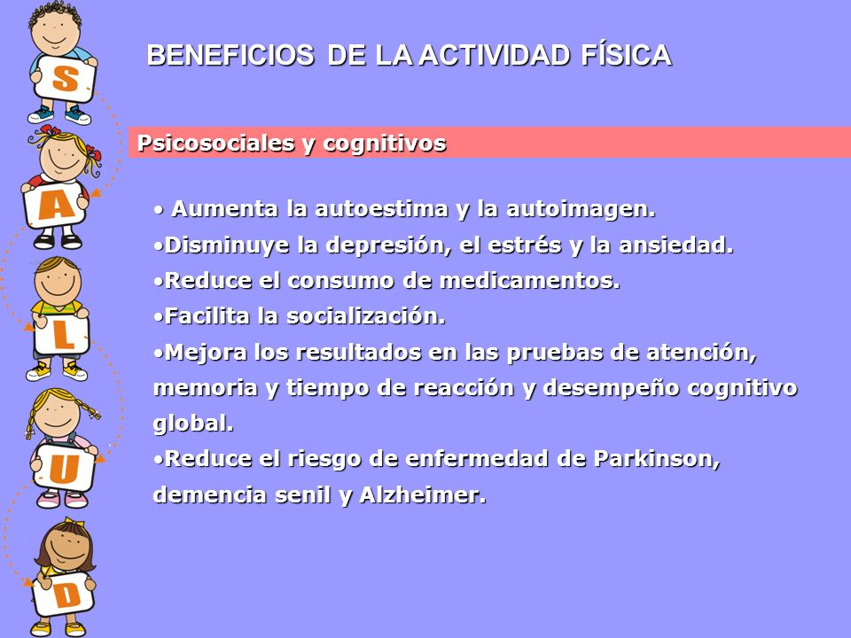 BENEFICIOS DE LA ACTIVIDAD FÍSICA