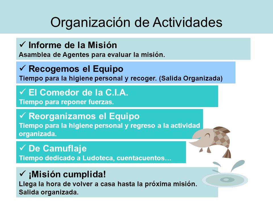 Organización de Actividades