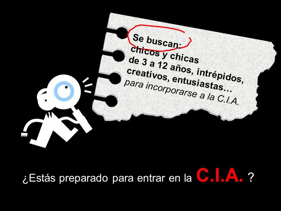 ¿Estás preparado para entrar en la C.I.A.