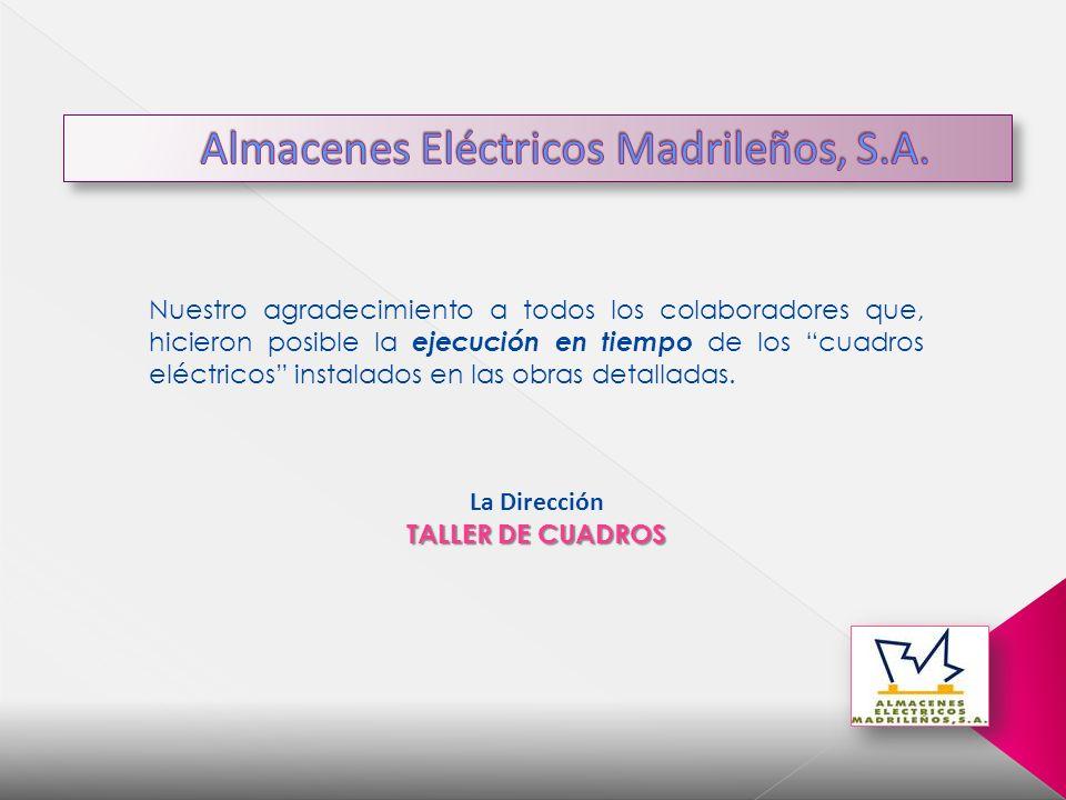 Almacenes Eléctricos Madrileños, S.A.
