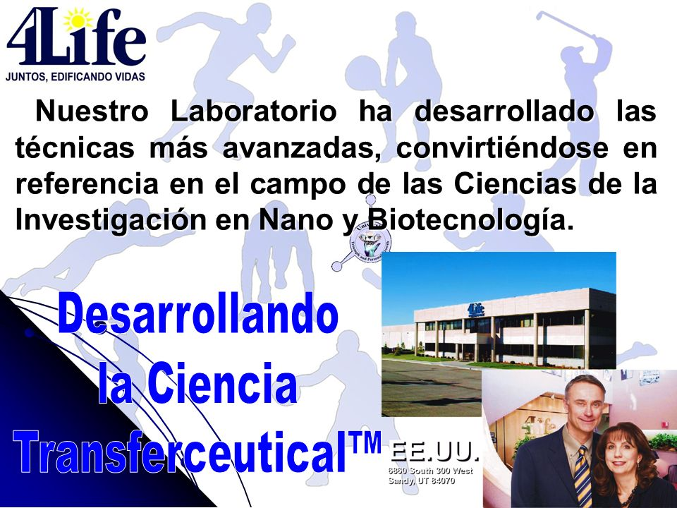 Desarrollando la Ciencia Transferceutical™