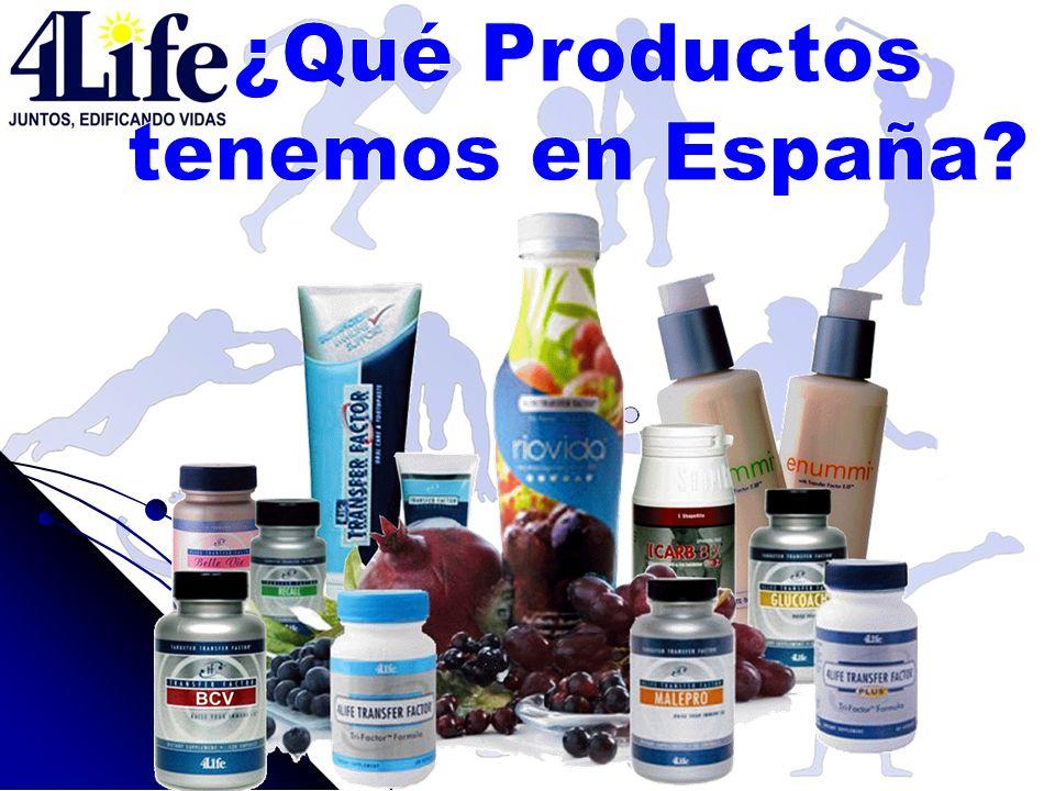 ¿Qué Productos tenemos en España