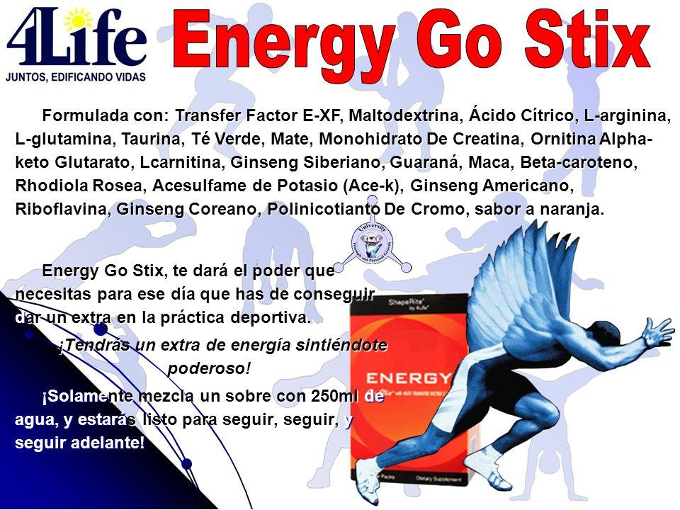 ¡Tendrás un extra de energía sintiéndote poderoso!