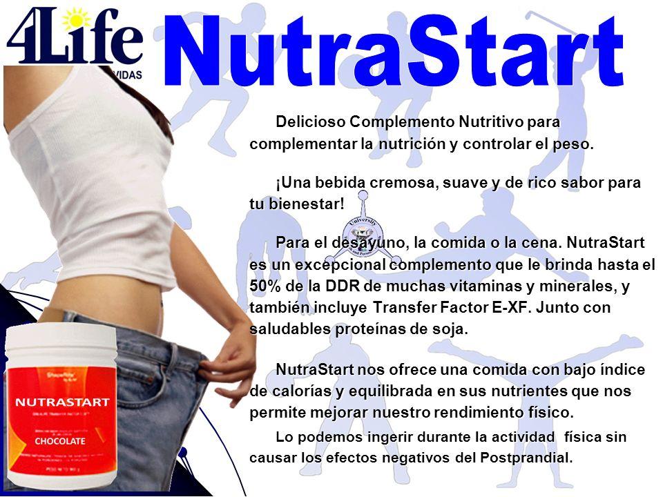 NutraStart Delicioso Complemento Nutritivo para complementar la nutrición y controlar el peso.
