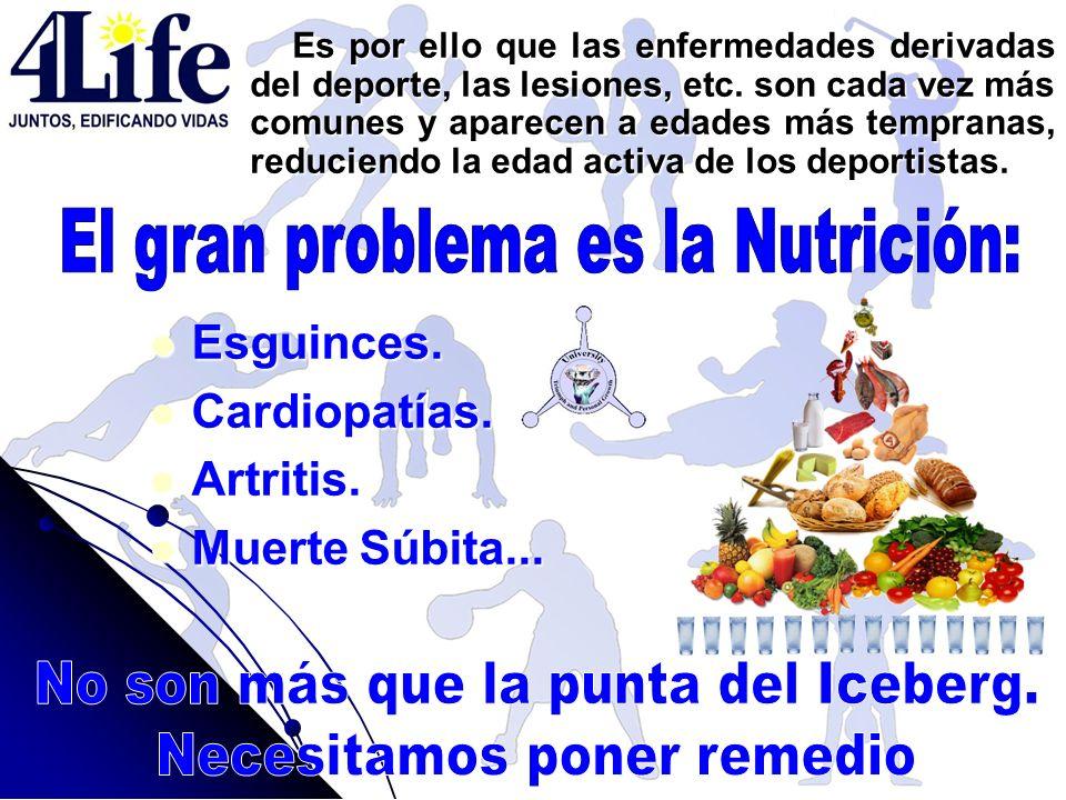 El gran problema es la Nutrición: