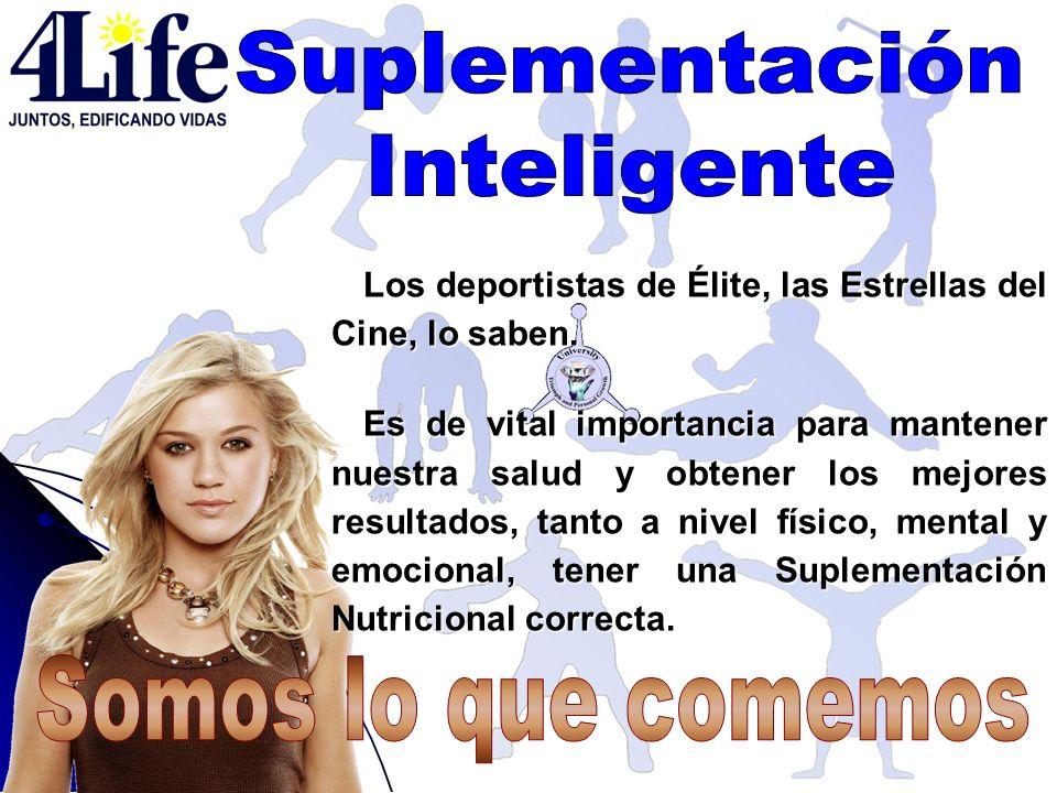 Suplementación Inteligente Somos lo que comemos