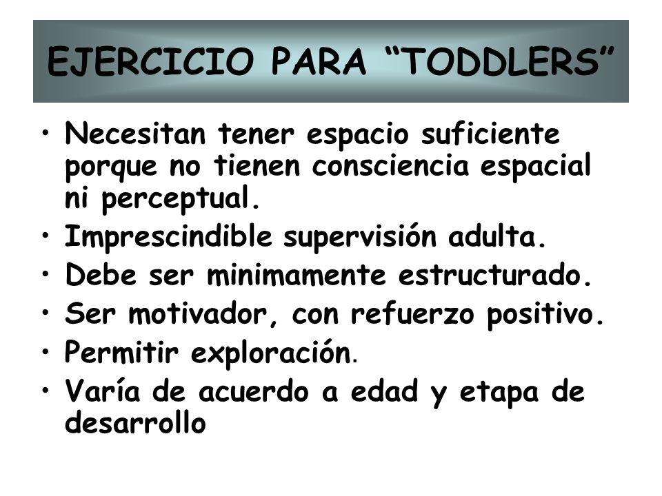 EJERCICIO PARA TODDLERS