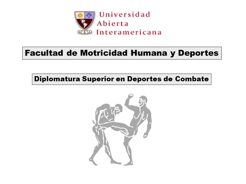 Facultad de Motricidad Humana y Deportes