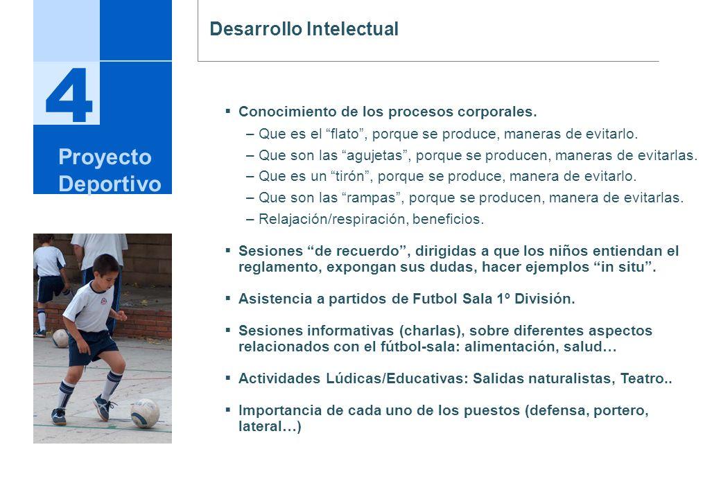 4 Proyecto Deportivo Desarrollo Intelectual