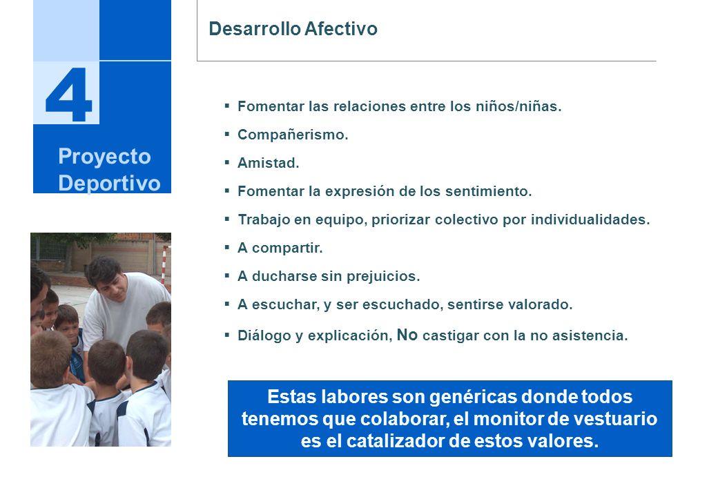 4 Proyecto Deportivo Desarrollo Afectivo