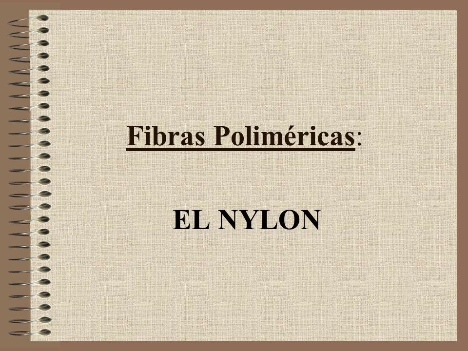 Fibras Poliméricas: EL NYLON