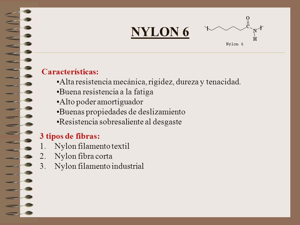 NYLON 6 Características: