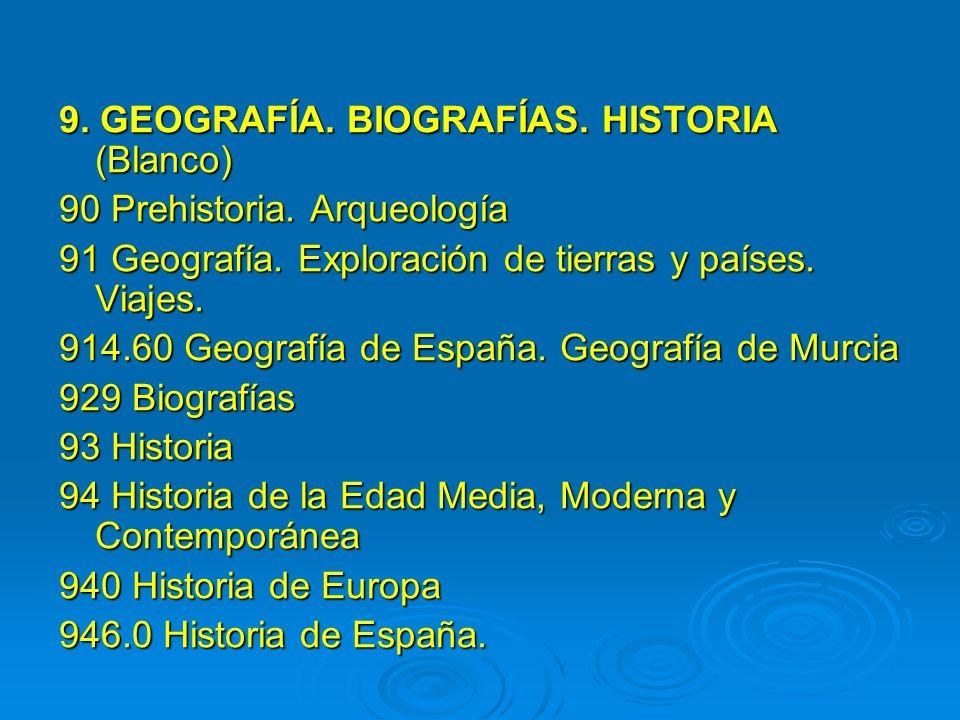 9. GEOGRAFÍA. BIOGRAFÍAS. HISTORIA (Blanco)