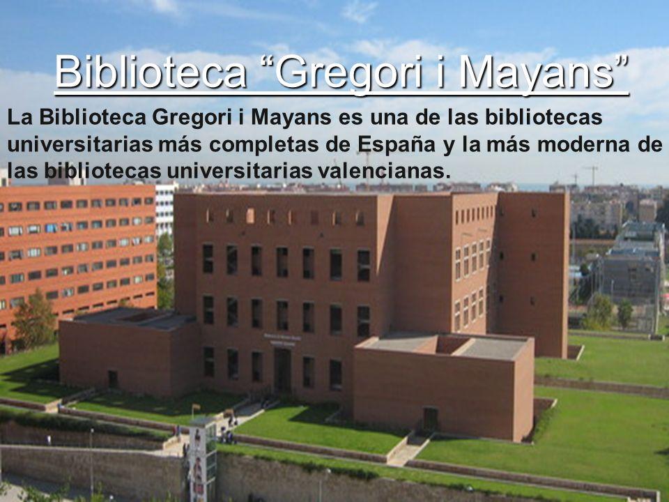 Biblioteca Gregori i Mayans