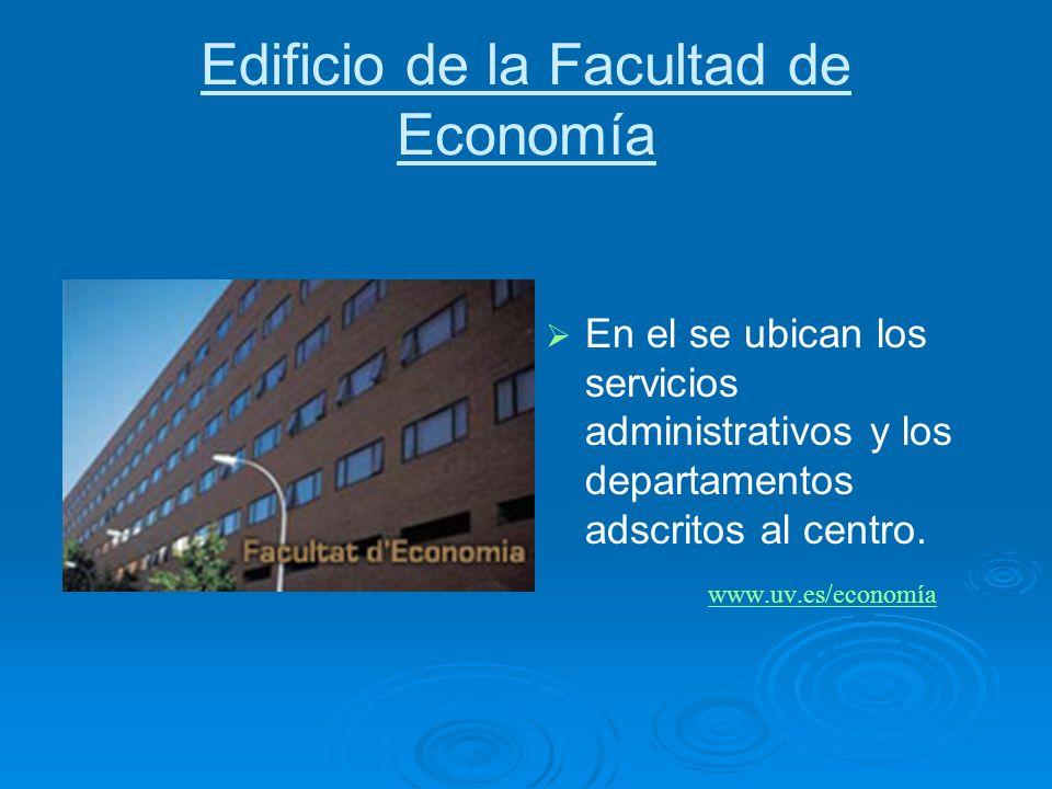 Edificio de la Facultad de Economía