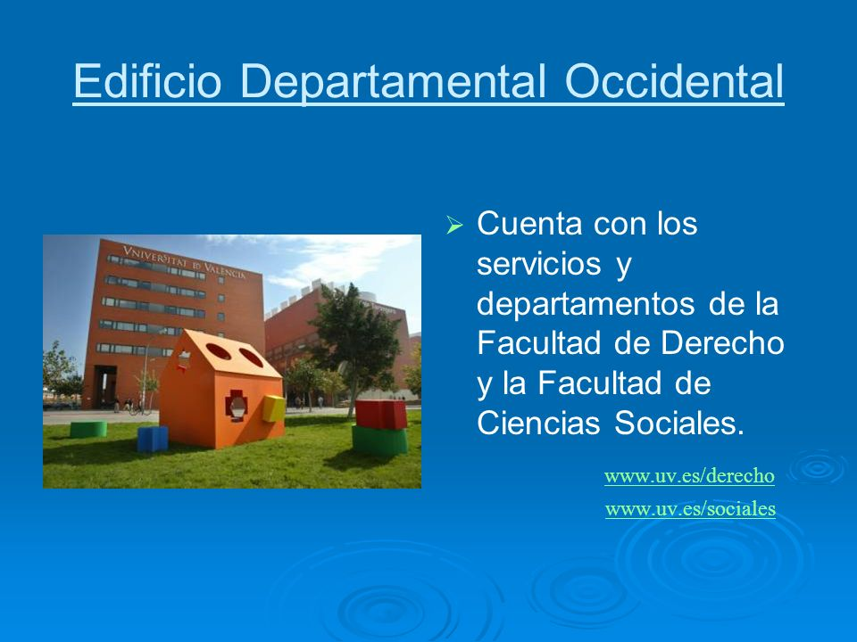 Edificio Departamental Occidental