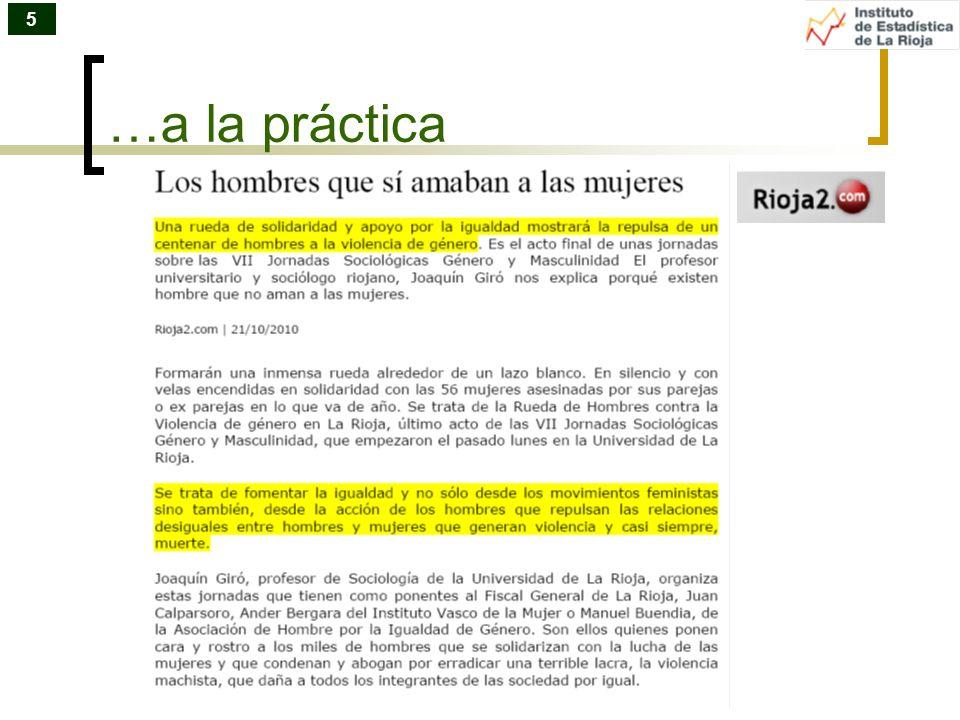 5 …a la práctica