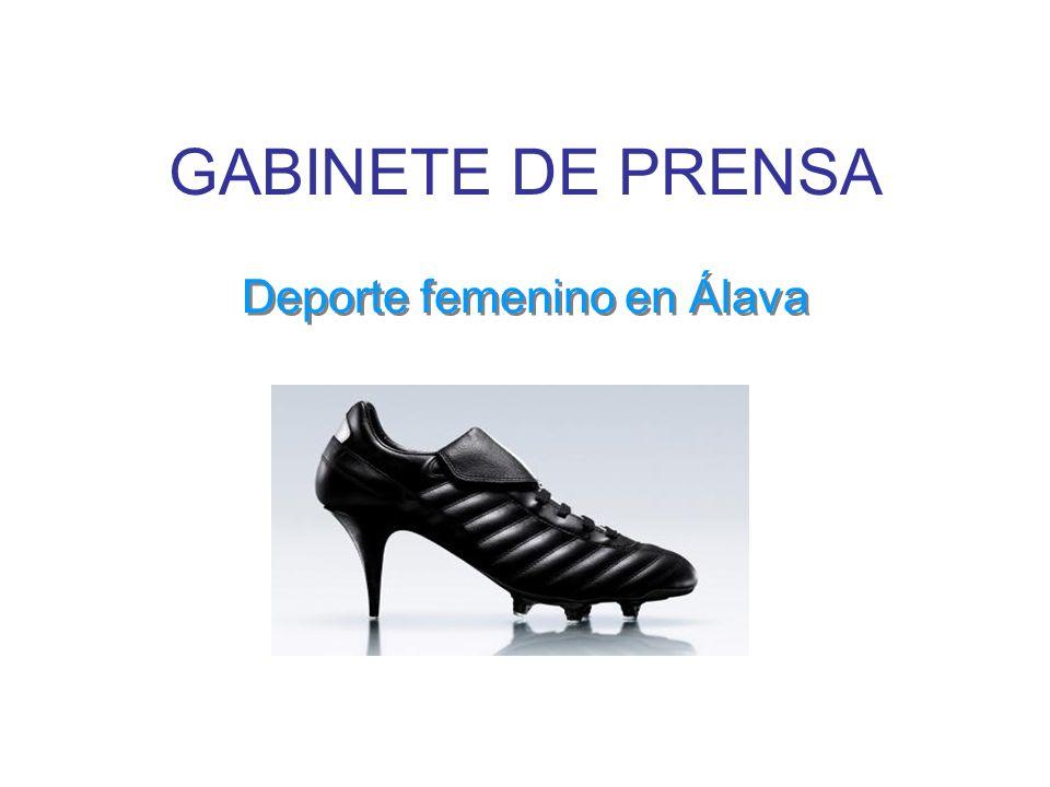 Deporte femenino en Álava