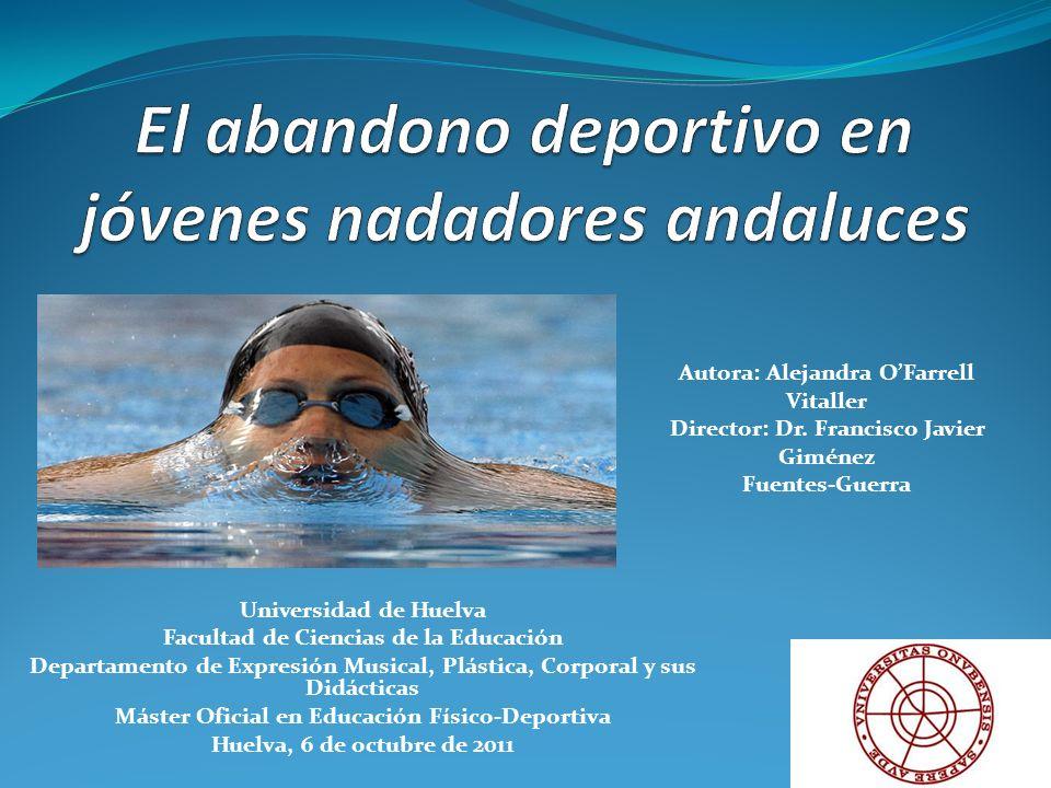 El abandono deportivo en jóvenes nadadores andaluces
