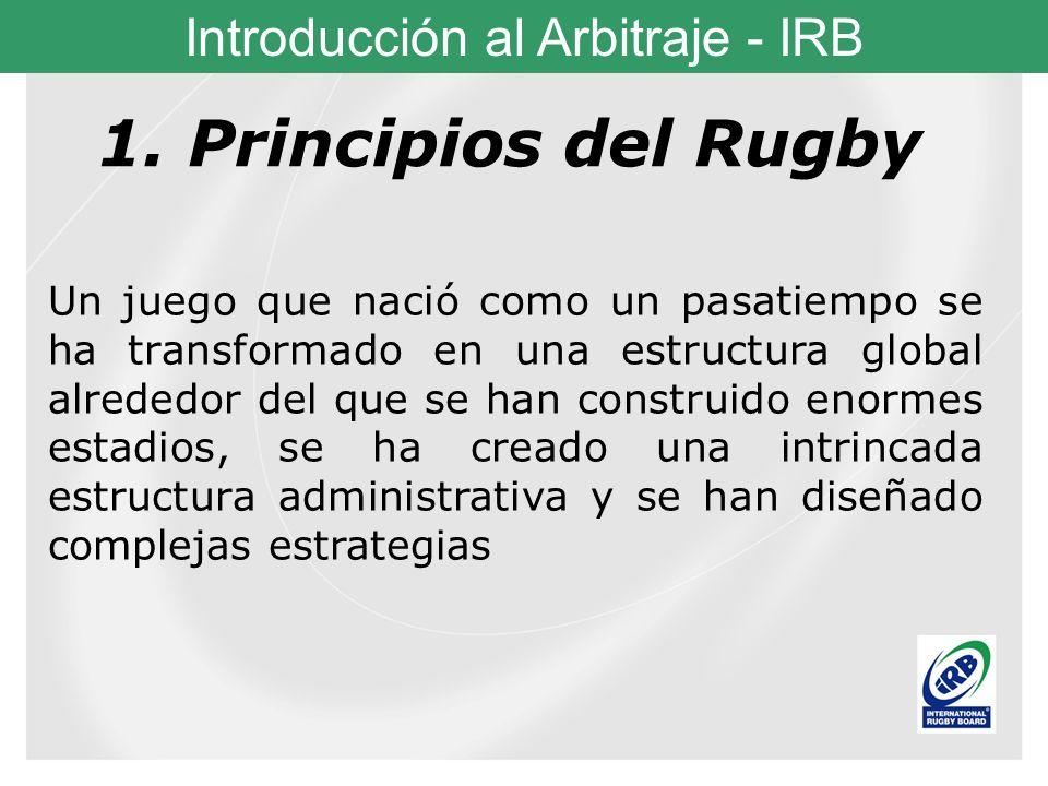 1. Principios del Rugby