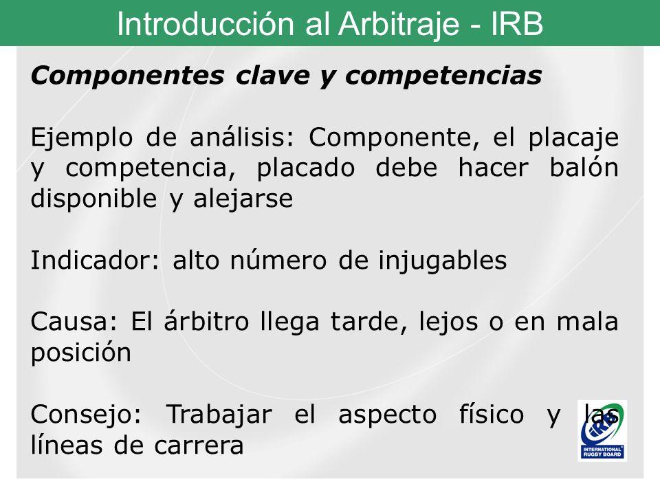 Componentes clave y competencias