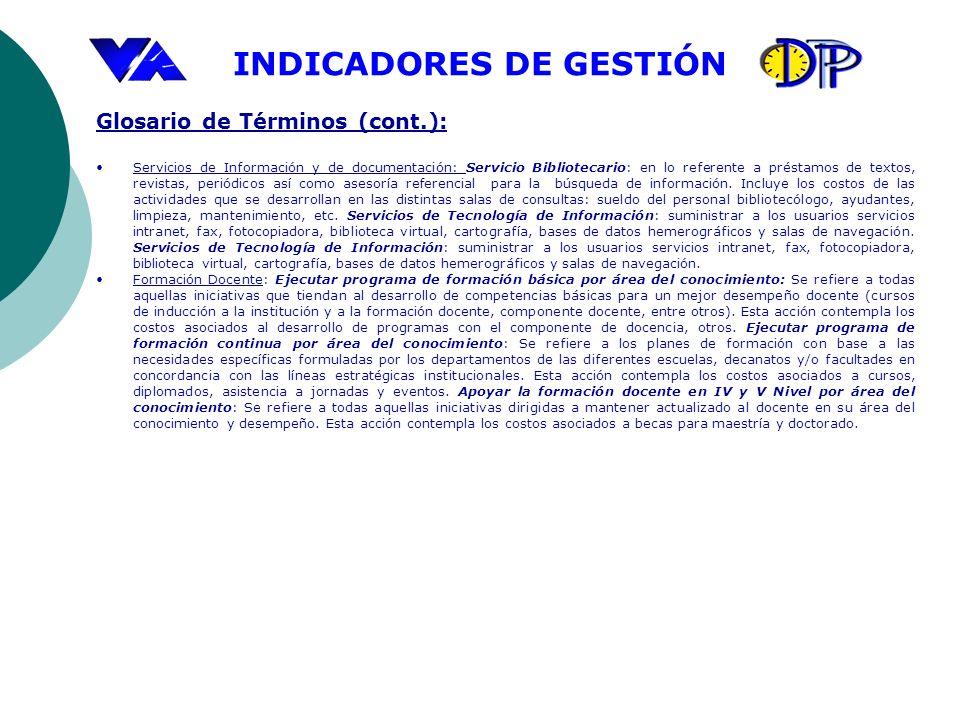 Glosario de Términos (cont.):